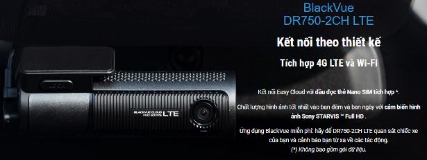 Camera hành trình Blackvue DR750 2CH LTE