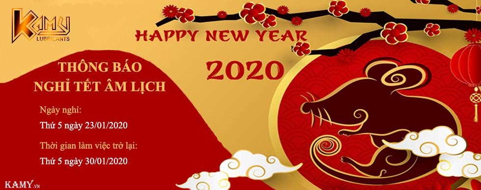 Thông báo nghỉ tết 2020