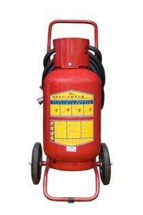 Bình bột chữa cháy loại xe đẩy BC MFTZ35