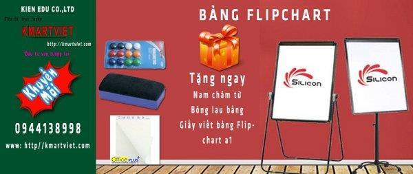 Bang Flipchart bang kep giay Flipchart