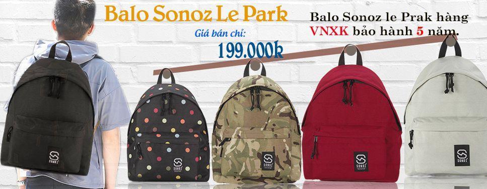 Balo Sonoz Le Park Chính Hãng