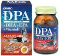 Viên uống bổ não DPA, DHA & EPA & vitamin E 120 viên - Nhật Bản