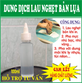 DUNG DỊCH LAU NGHẸT MỰC KHI IN LỤA