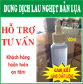 DUNG DỊCH LAU NGHẸT BẢN IN LỤA