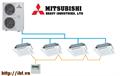 Điều hòa Multi Mitsubishi 4xFDT60VF/FDC250VSA loại âm trần cassette