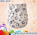 Bỉm vải cho bé 13-28 Kg mẫu Cà chua tím