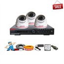 Lắp đặt trọn bộ 3 Camera Giá Rẻ