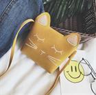 Túi xách mini hình mèo - Màu vàng