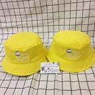 Mũ bucket vàng chanh