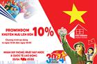 NHẬN NÀY KHUYẾN MÃI KHỦNG LÊN ĐẾN 10% TỪ PROWINDOW NHÂN DỊP 30/4 & 1/5