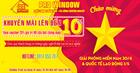 CHIẾC KHẤU LÊN ĐẾN 10% KHI KÝ HỢP ĐỒNG CỬA PROWINDOW NHÂN DỊP 30/4 & 1/5