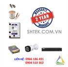 Trọn bộ 1-4 camera Dahua 2.0 MP