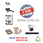 Trọn bộ bộ camera 5MP Hikvision DS-2CE56H1T-IT3 và đầu ghi DS-7204HUHI-K1