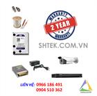 Trọn bộ camera 5MP Hikvision DS-2CE16H1T-IT5 và đầu ghi DS-7204HUHI-K1