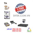 Trọn bộ camera HD1080P Hikvision DS-2CE56D0T-IR và DS-7204HQHI-F1/N