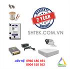 Trọn bộ camera HD720P HIKVISION DS-2CE16C2T-IR