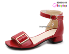 Dép sandal cao gót cho bé SDBG021B
