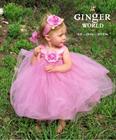 Đầm công chúa Tutudress ruy băng satin mịn cho bé 0-5 tuổi TT10.