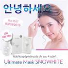 MẶT NẠ DƯỠNG TRẮNG Ultimate Mask SNOWHITE