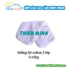 Miếng lót cotton 3 lớp size 3-10kg