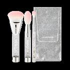 Bộ Cọ Trang Điểm 3 Cây Etude House Twinkle Mini Brush Set Snow Edition