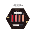 Bộ 5 Son Kem Nee Cara Lip Gloss Set