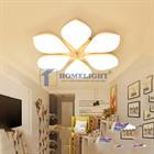 Đèn mâm ốp trần Led hoa 6 cánh OP3M01-L - Homelight