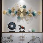 Đồng hồ trang trí nghệ thuật chiếc lá BH 022