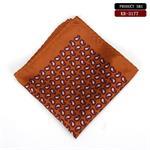 Khăn cài áo vest cho nam _Pocket square hình móc số 9