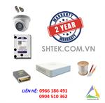 Trọn bộ 1-4 camera 1.0MP Hikvision