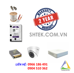 Trọn bộ 1-4 camera Hikvision 5.0 MP