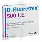 Thuốc cứng xương D-Fluoretten 500 I.E