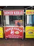 bộ lò doner kebab 3 bếp