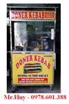 Lò Doner kebab 3 buồng