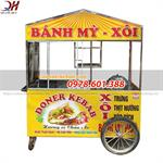 Xe Bán Xôi Bán Bánh Mì Thổ Nhĩ Kỳ 1m6