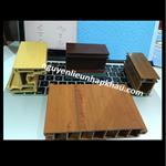 Zprofile upvc màu full cán nóng 2 mặt laminate vân gỗ (level 2)