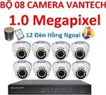 Trọn bộ 8 camera vantech vp-111ahdl/m