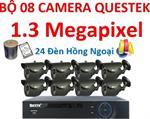 Trọn bộ 8 camera AHD Questek QTX-1312AHD