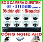 BỘ 8 CAMERA QUESTEK QT-5118AHD