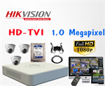 TRỌN BỘ 03 CAMERA HIKVISION HD TVI 1.0