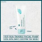 Sữa Rửa Mặt Trị Mụn Innisfree – Bija Anti Trouble Facial Foam