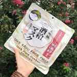 Mặt nạ Sake Kasu Face Mask Nhật Bản