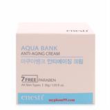 Kem chống nhăn trị nám và sạm da Enesti Aqua Bank Anti-Aging Cream Cao Cấp Hàn Quốc 30g - Hàng Chính Hãng