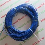 Dây điện 0.8mm màu xanh