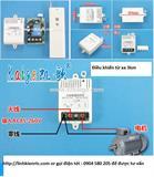 Bộ điều khiển từ xa RF 1 kênh 3km 220V, điều khiển ON/OFF đầu ra dòng 30A