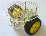 Khung xe robot rùa RT4 – 2 tầng khung nhựa