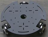 Robot đa hướng 3 bánh Omni khung nhôm