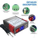 Bộ Điều Khiển Nhiệt Độ STC-3008 100-220VAC