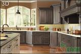 Mẫu tủ bếp GCN 3