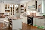 Mẫu tủ bếp GCN 2